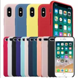 Чехол silicone cese на iphone x/xs (под оригинал)