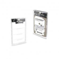 """Корпус для HDD/SSD 2,5"""" USB 3.0 (прозрачный)"""