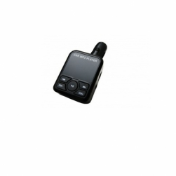 fm-трансмиттер - m966 (черный) microsd, aux, 2usb, пульт, зарядка