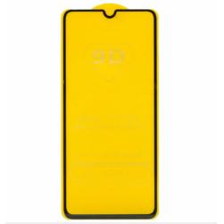 Защитное стекло Samsung A70 (черный) 9D тех.упаковка