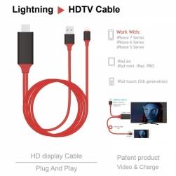 Кабель Lightning на HDMI