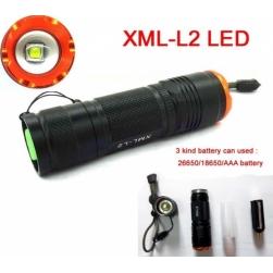 фонарь cree xml l2 26650 zoom