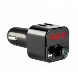 Автомобильный FM-трансмиттер - CARB5 Bluetooth (черный)