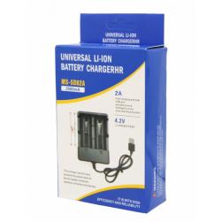 Зарядное устройство USB на 2 АКБ 18650 MS-5D82A