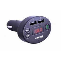 Автомобильный FM-трансмиттер - CARB6 Bluetooth (черный)