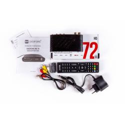 Цифровая ТВ приставка DVB-T2 DIGIFORS HD 72