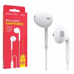 Наушники с микрофоном BOROFONE BM54 (белый)