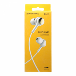 Наушники с микрофоном borofone bm33 (белый)