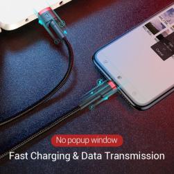 Baseus Lightning USB кабель Iphone/Ipad all 2.4A (calklf-e19) 200см.