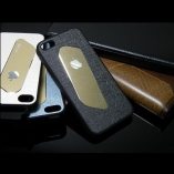 metal leather case iphone 4/4s