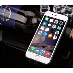 тонкий матовый силиконовый чехол iphone 7 plus