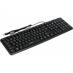 клавиатура oklick 130m usb black