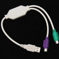 переходник usb на ps2 клавиатура и мышка