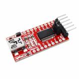 Конвертер miniUSB на TTL UART на чипе FT232RL
