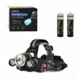 Фонарь NL MX-A5-T6 (1 LED,2 LED) черно-серый