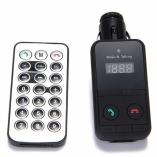 FM-трансмиттер 301E с Bluetooth SD/2USB 2.1А черный