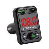 Автомобильный FM-трансмиттер - CARA6 Bluetooth (черный)