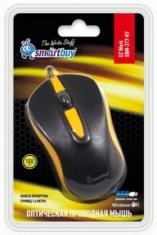Оптическая мышь SmartBuy 317 Black/Yellow (SBM-317-KY)