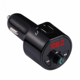 Автомобильный FM-трансмиттер - CARA8 Bluetooth (черный)