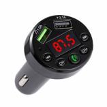 Автомобильный FM-трансмиттер - CARE6 Bluetooth (черный)