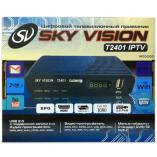 Цифровая ТВ приставка DVB-T2 sky vision t2401