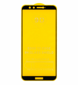 Защитное стекло Honor 9 Lite (черный) 9D тех. упаковка