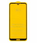 Защитное стекло Honor 8S (черный) 9D тех. упаковка