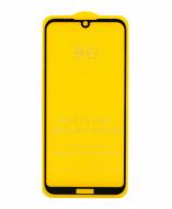 Защитное стекло Huawei Y5 2019 (черный) 9D тех. упаковка