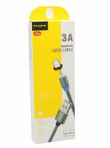 Кабель USB - TypeC Maimi X30 Magnetic (серый) 1м