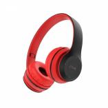 Полноразмерные Bluetooth наушники BOROFONE B04 (красный)
