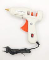 Пистолет клеевой X-PERT 100W с выключателем, на блистере, HJ013, белый