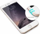 Защитное стекло 10D iPhone 6/6S (белое)