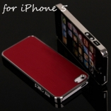 metal + chrome case iphone 5/5s