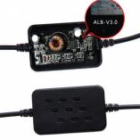 АЗУ для скрытого монтажа проводки для видеорегистртора 5V 2.5А MINI USB (угол 90гр)