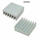Радиатор алюминиевый (мм) 14x14x6
