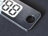 указатель номера телефона в авто