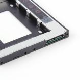 адаптер для установки жесткого диска в отсек dvd ноутбука 9.5mm