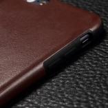 силиконовая накладка leather iphone 6