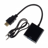 Переходник HDMI to VGA+AUX