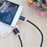 Кабель MicroUSB/USB Voxlink нейлон 3м.