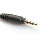 переходник jack 3.5mm 4pin - 2x jack