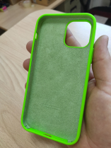 Чехол silicone case на iphone 12 mini (под оригинал)