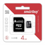 4GB microSDHC Class10 SMARTBUY