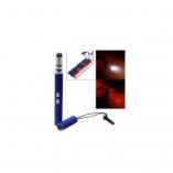 Стилус емкостной + светодиодный фонарик с лазерной указкой (2К-9107)