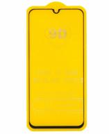 Защитное стекло Samsung A40 (черный) 9D тех.упаковка