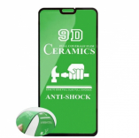 Защитное стекло Ceramics Xiaomi RedMi NOTE 7 (черный) тех. упаковка