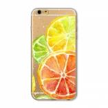 силиконовый чехол iphone 6/6s фрукты