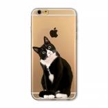 силиконовый чехол iphone 6/6s животные