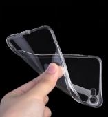 тонкий силиконовый чехол с заглушками iphone 7