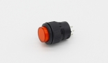 кнопка 4-х контактная on/off 3a/250v со светодиодом